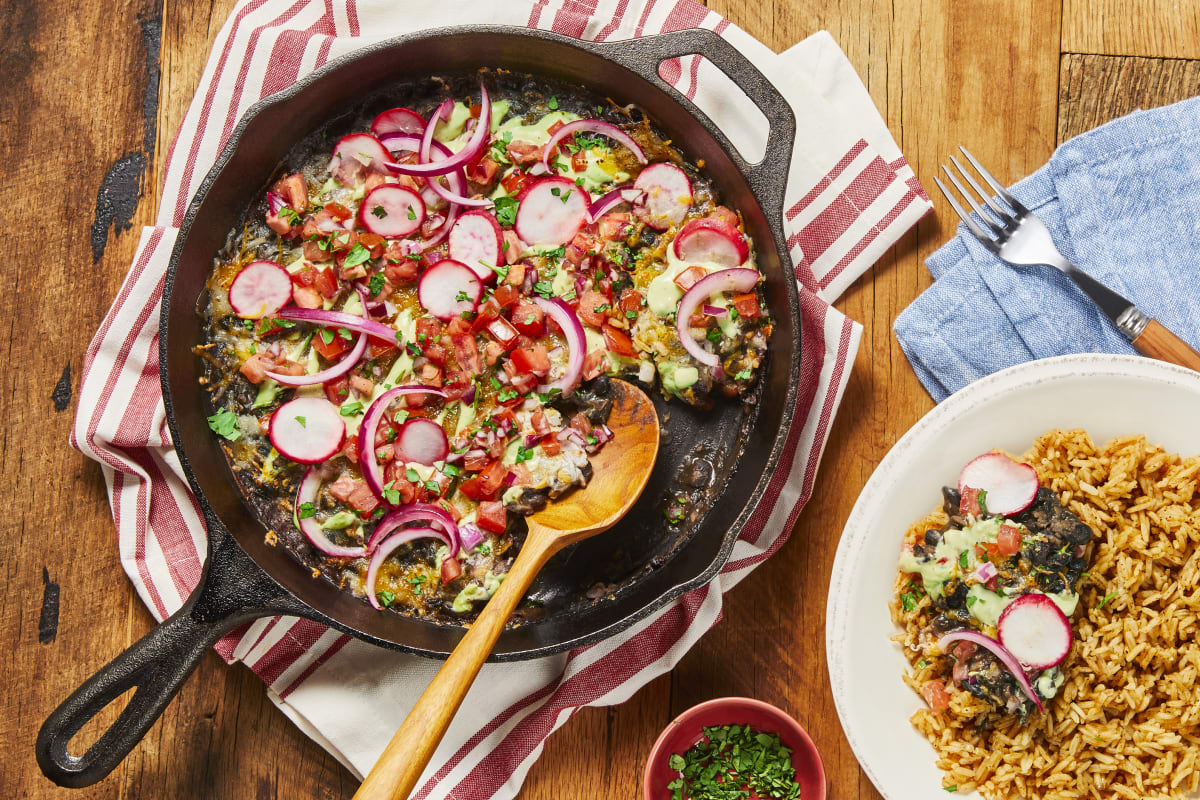Skillet Refried Black Beans Recipe Hellofresh