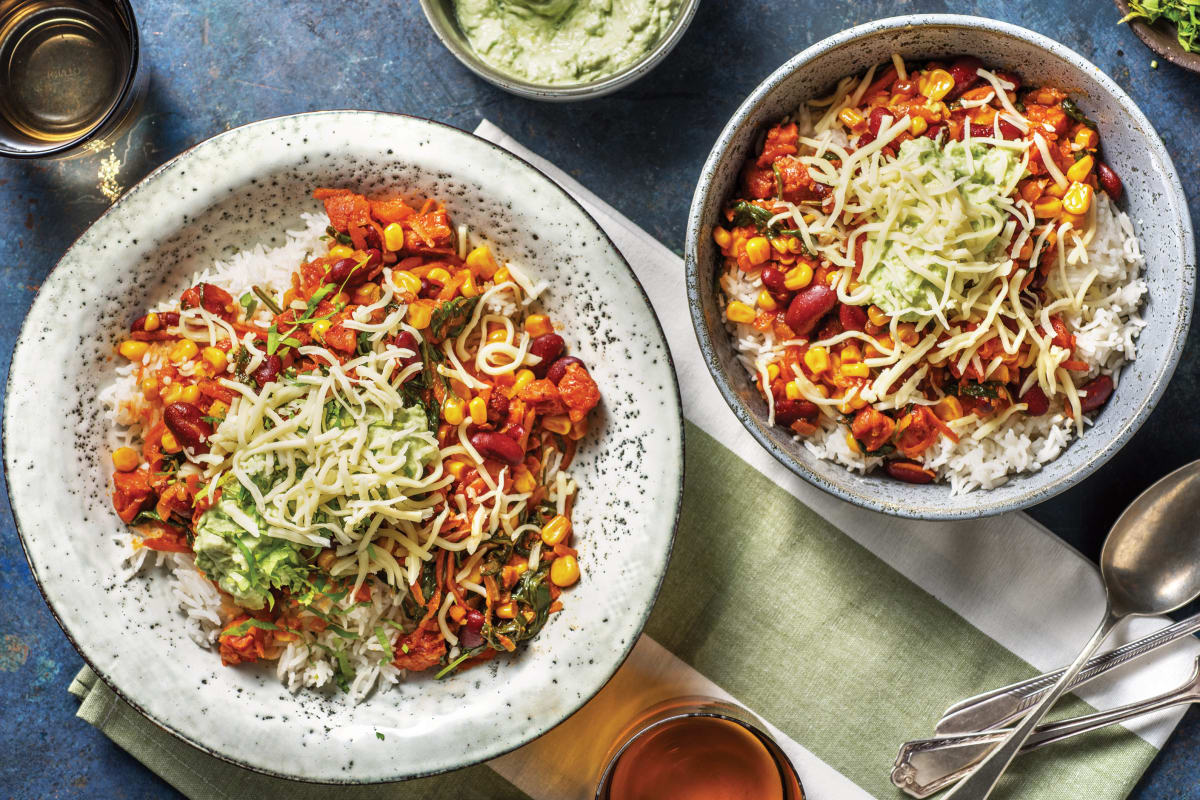 Smokey Mild Chorizo & Bean Chilli