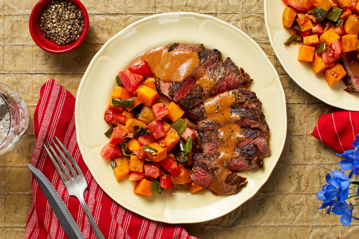 Southwest-Spiced Steak