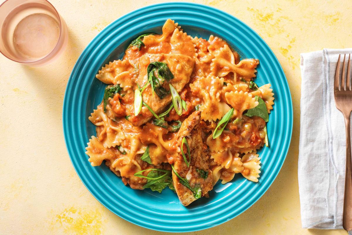 Speedy Cajun Turkey Pasta
