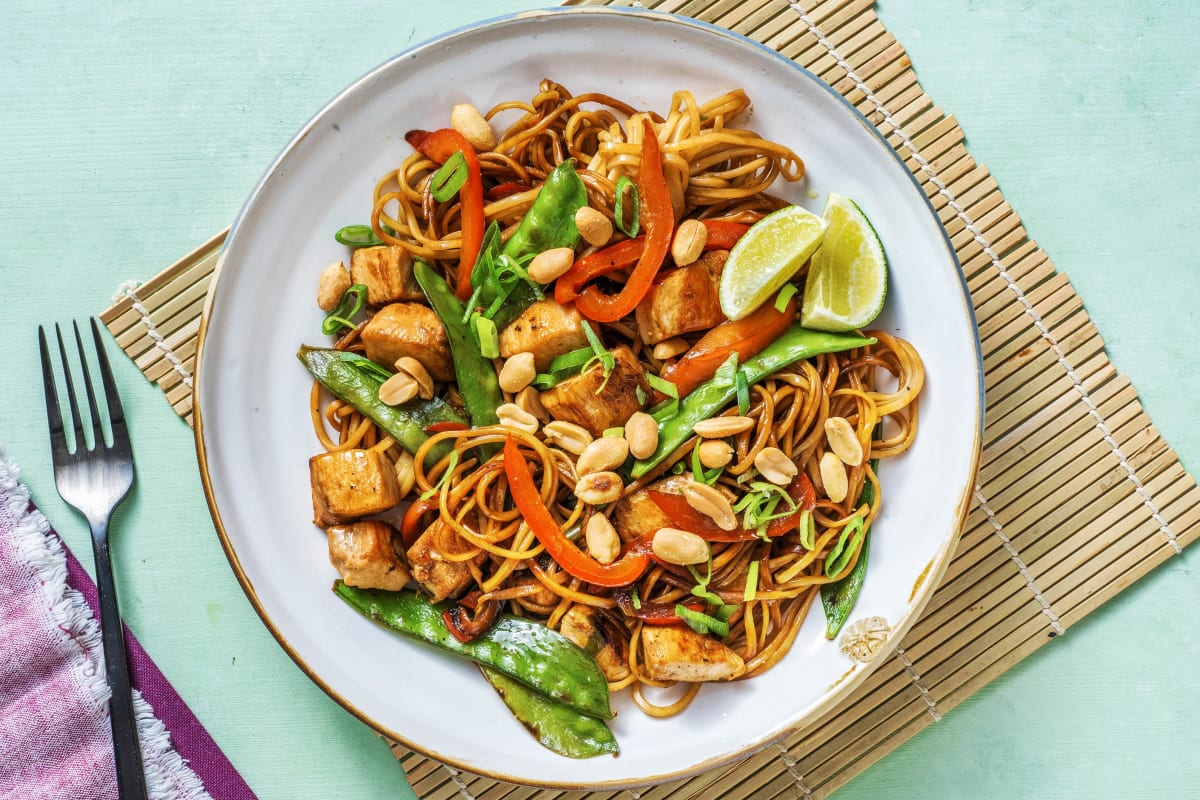 Speedy Chicken Noodles