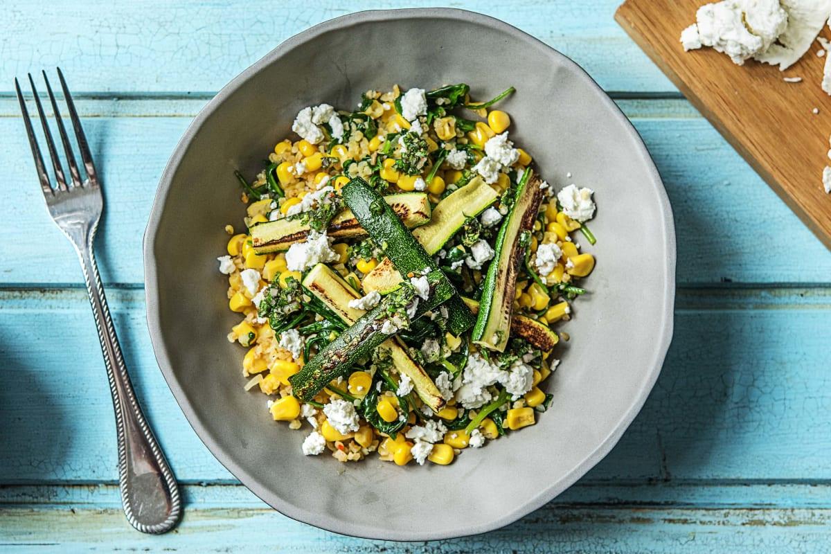 Spiced Bulgur Salad