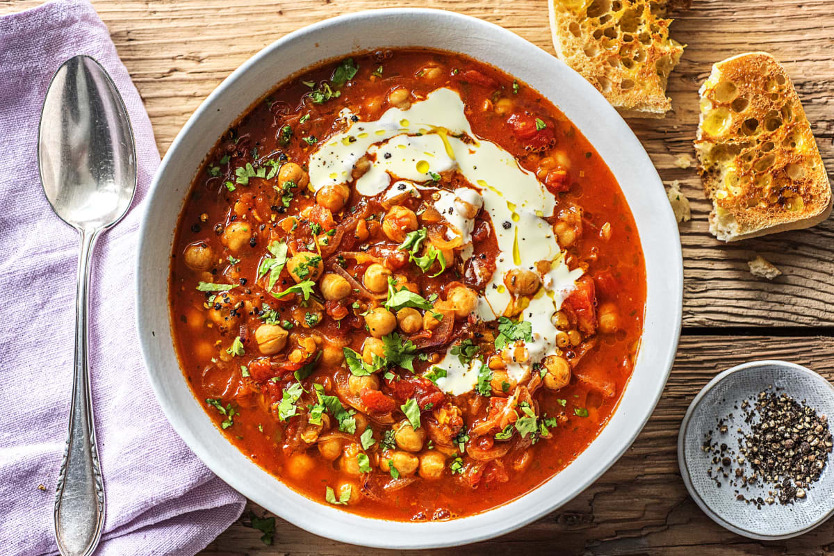 Spiced Moroccan Soup
