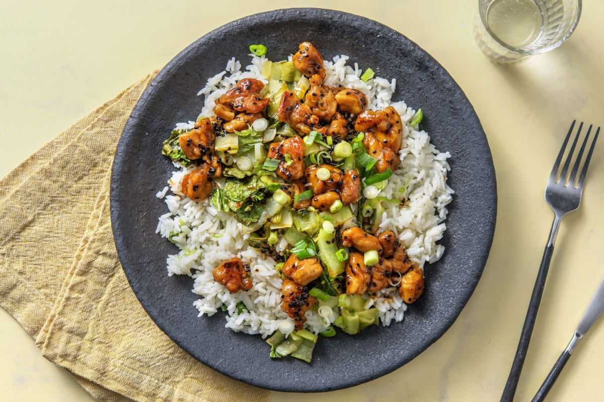 Spicy Chinese Style Lemon Chicken