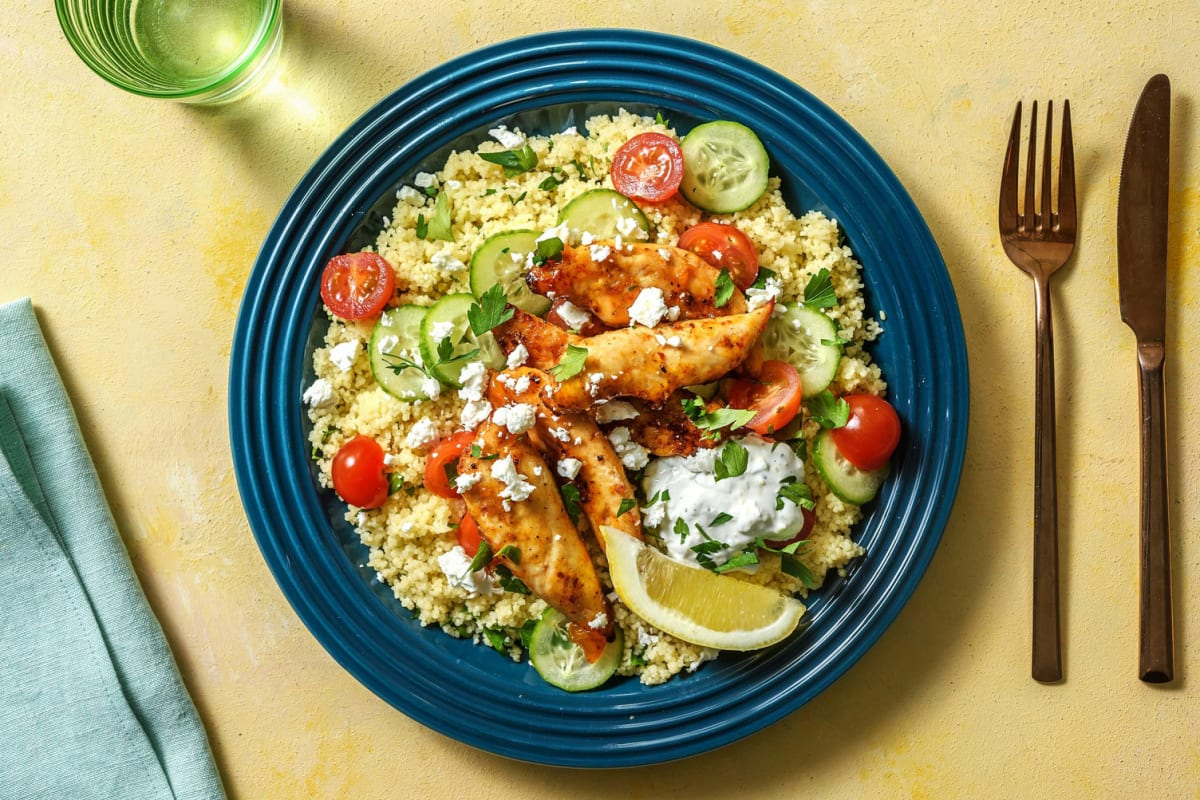Spicy Harissa and Apricot Chicken Tenders