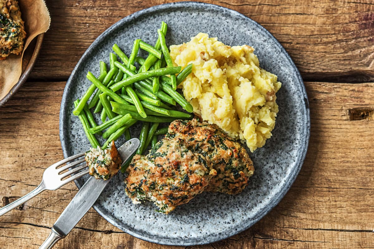 Spinach and Turkey Meatloaves