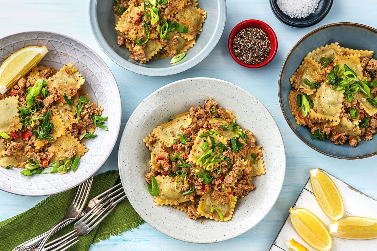 Wonderlijk Spinach Ricotta Ravioli Recept | HelloFresh TZ-66