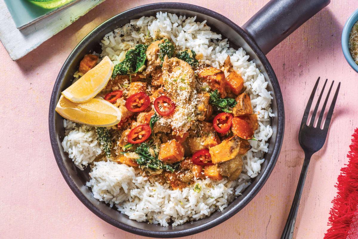 Sri Lankan Chicken & Veggie Curry