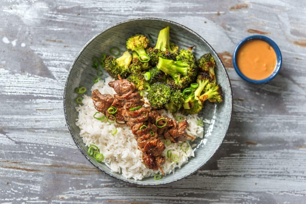 Thai Beef Skewers aka Satay