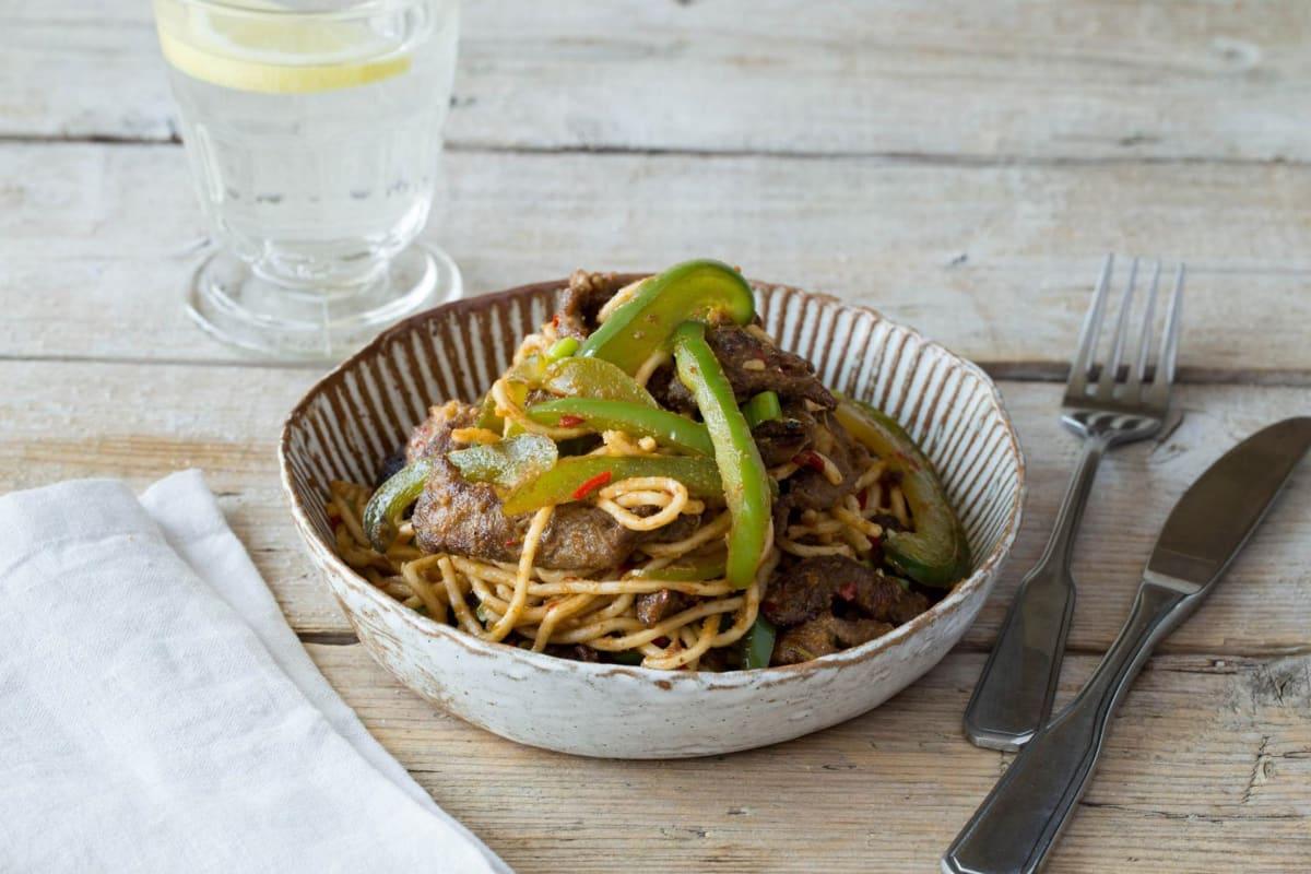 Stir-Fried Five-Spice Chili Beef