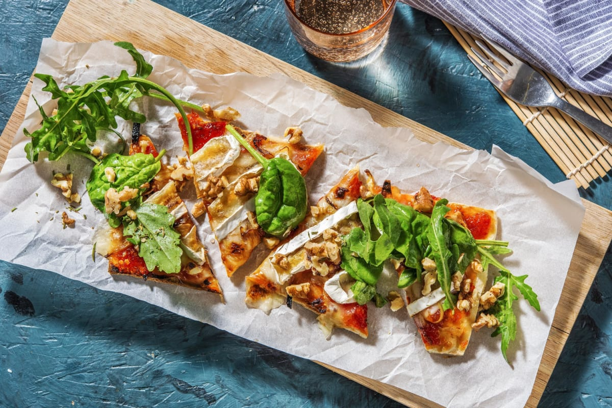 Sweet and Savoury Brie Flatbread