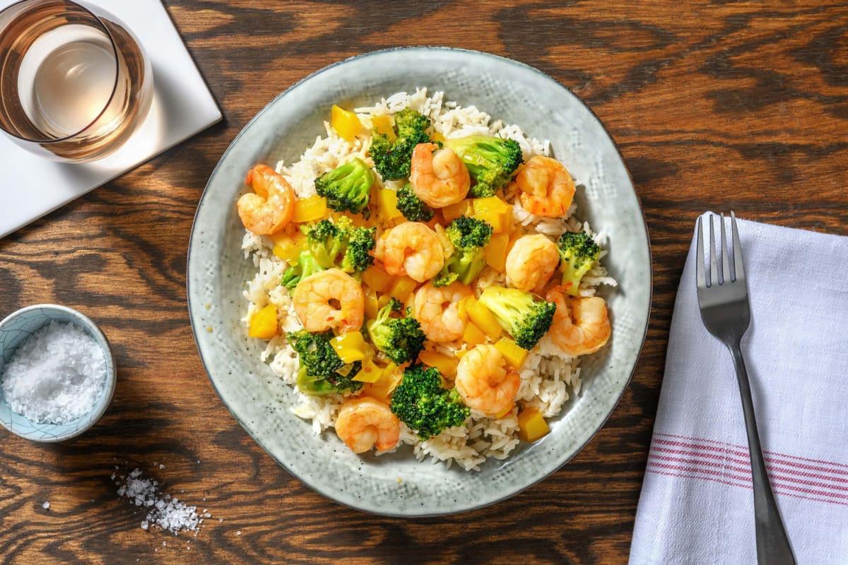 Sweet and Savoury Sesame Shrimp