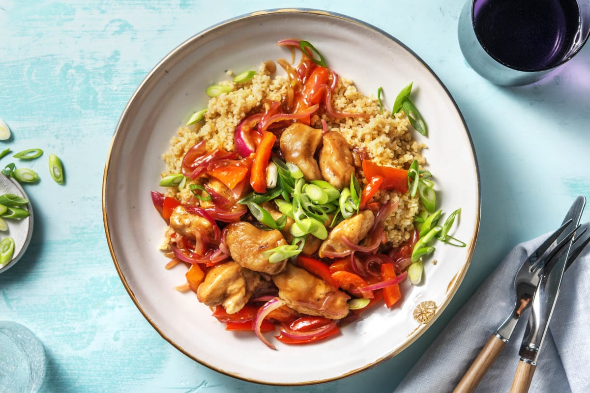 Sweet and Sour Style Chicken