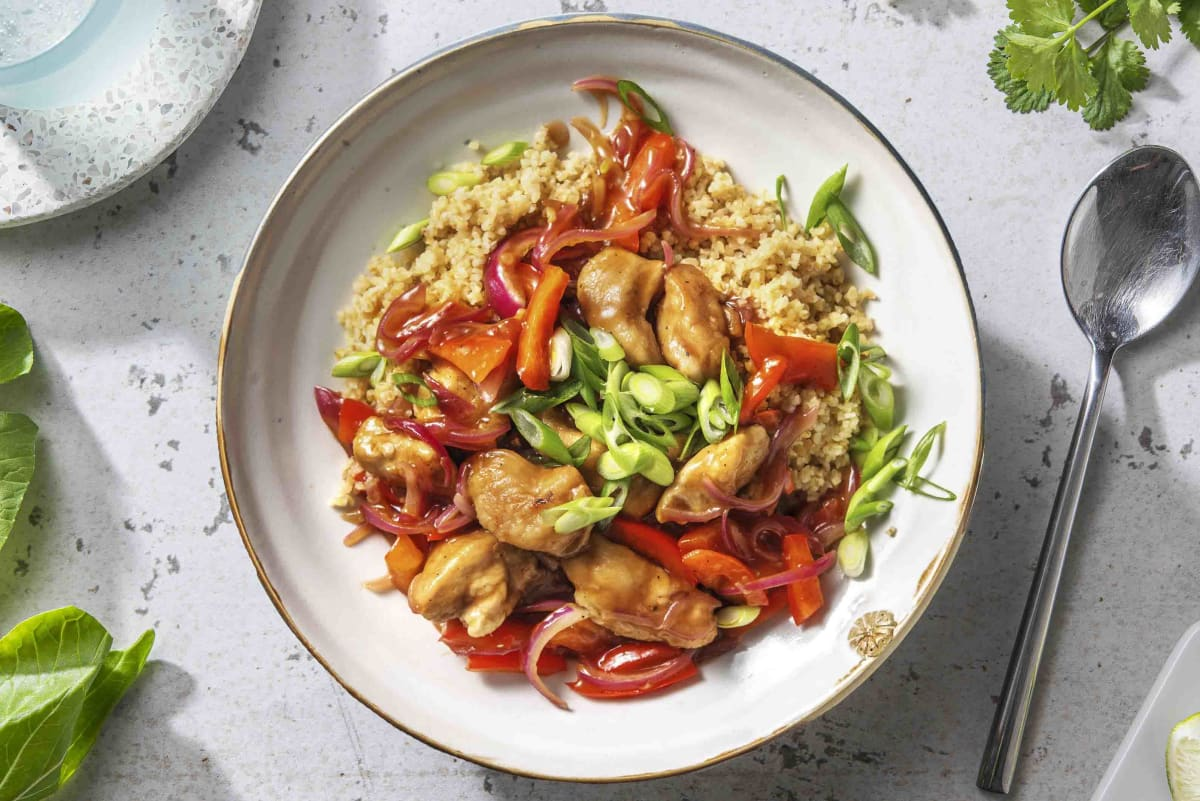 Sweet & Sour Style Chicken