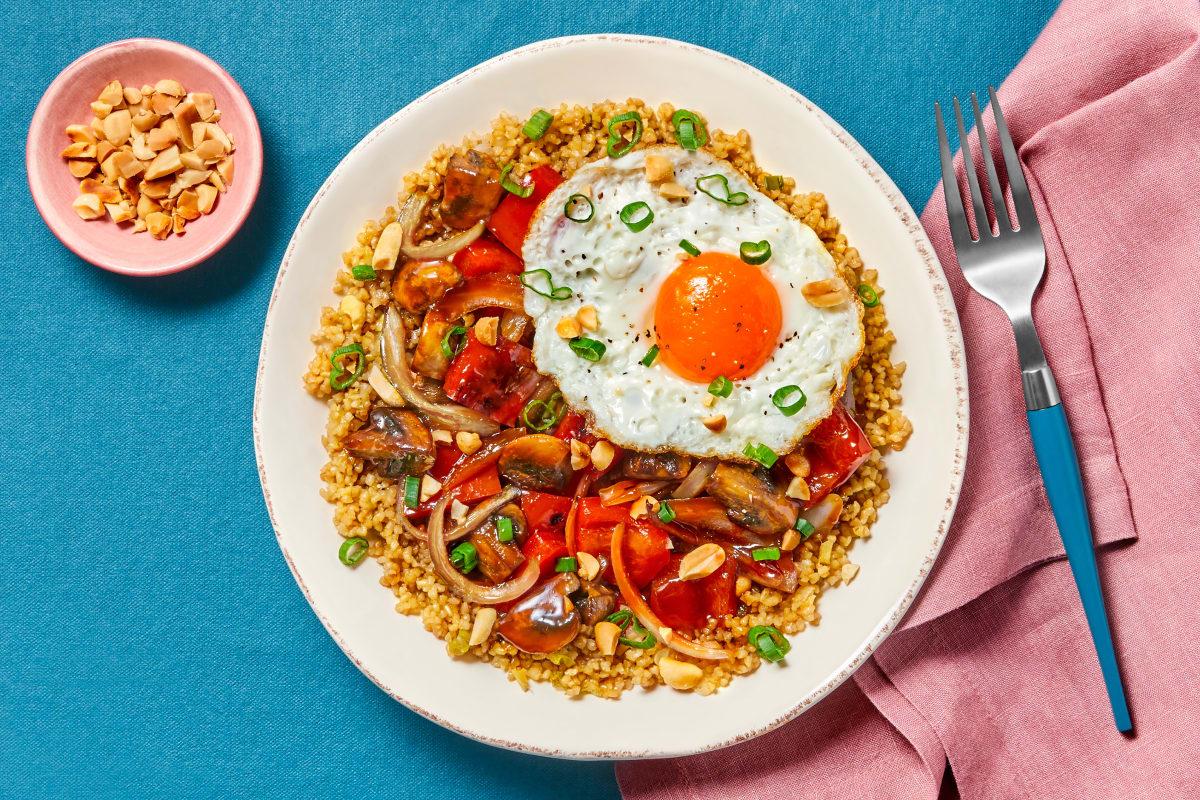 Sweet & Spicy Szechuan Veggie Stir-Fry