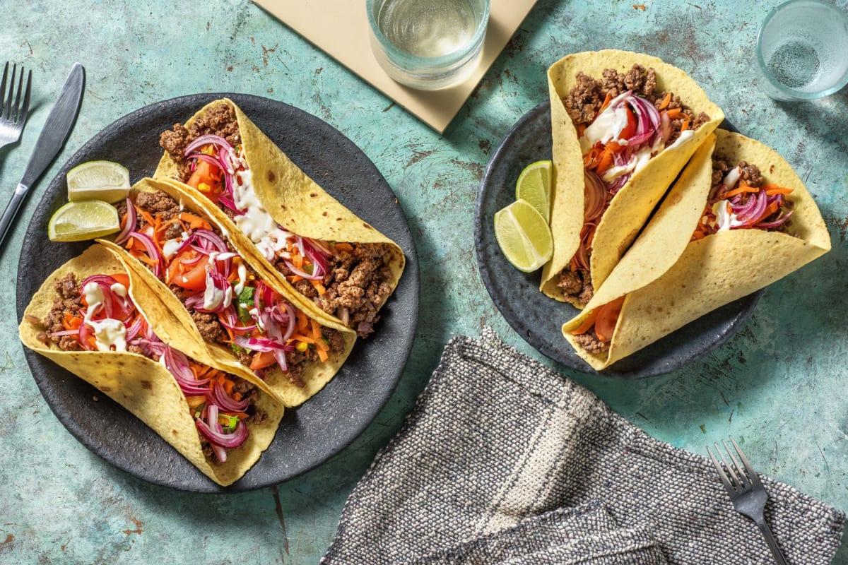 Tacos med nötfärs