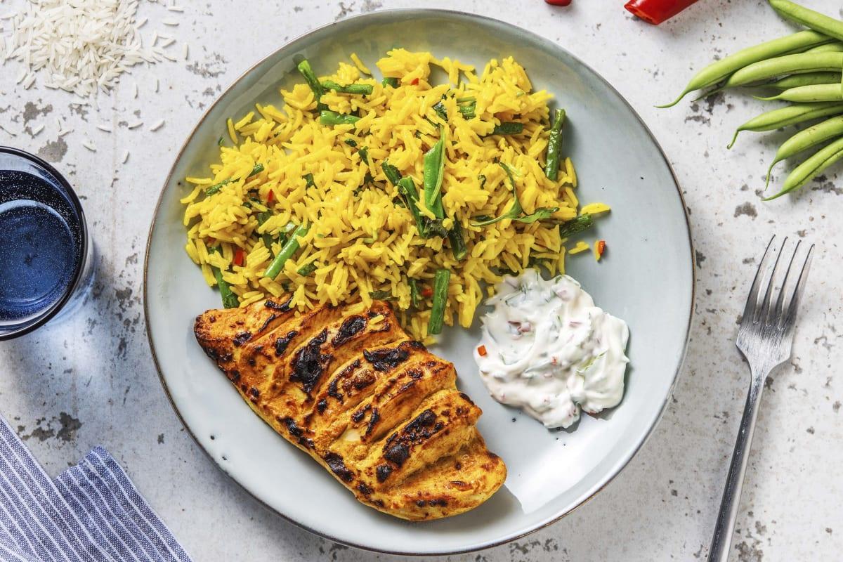Tandoori Hasselback Chicken