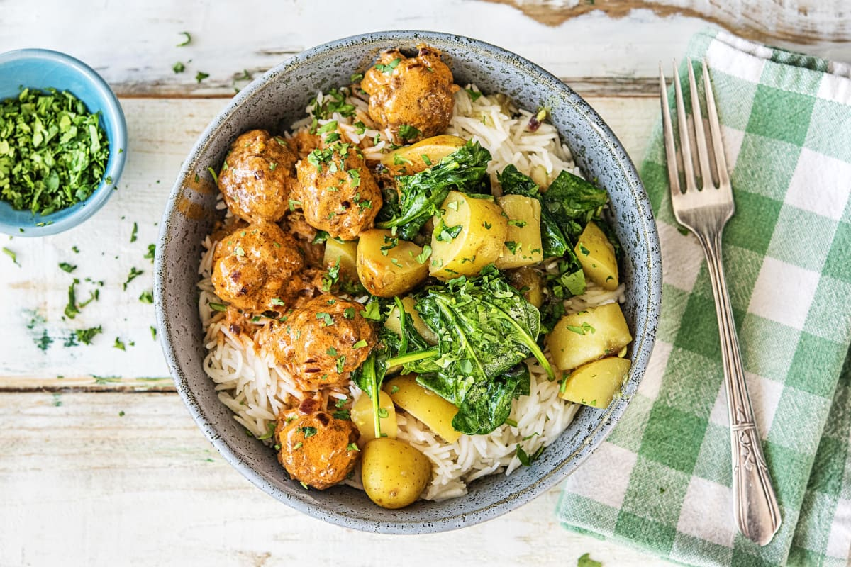 Tandoori Meatball Curry