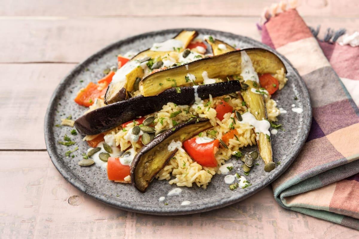 Indian-Inspired Eggplant