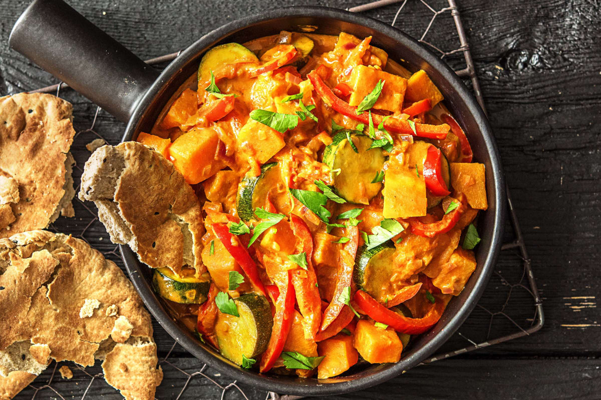 Tandoori-Tikka-Gemüse-Curry