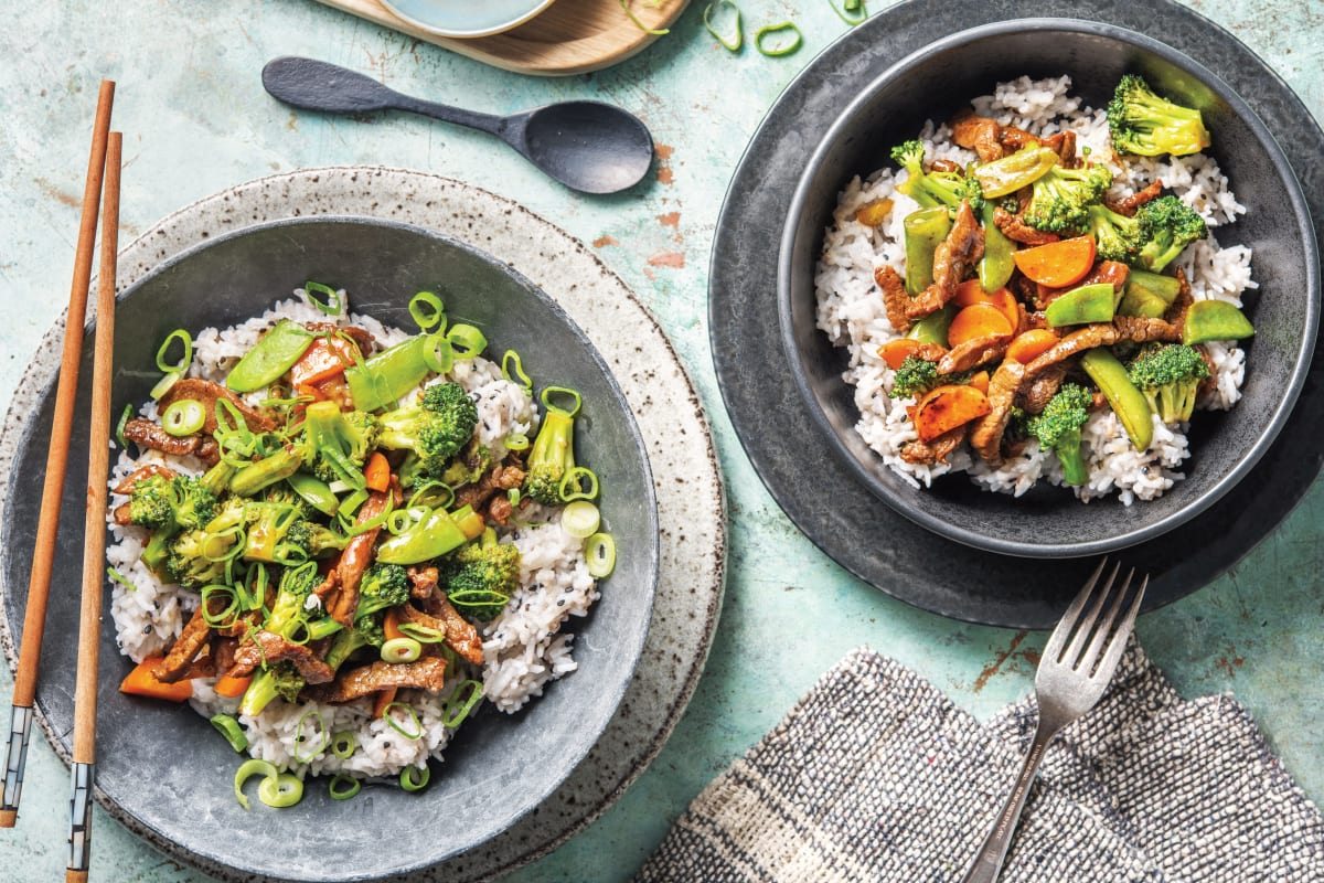 Teriyaki Beef & Broccoli Stir-Fry