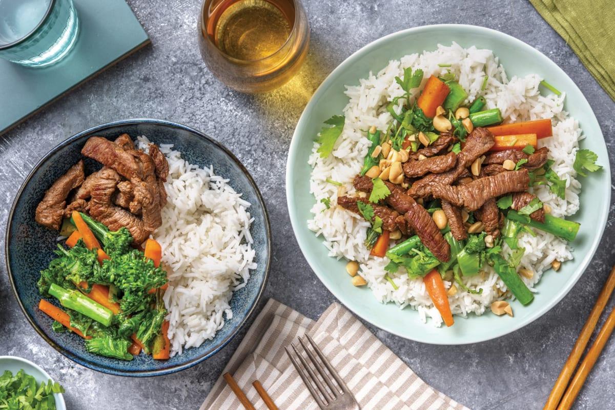 Teriyaki Beef & Veggie Bowl