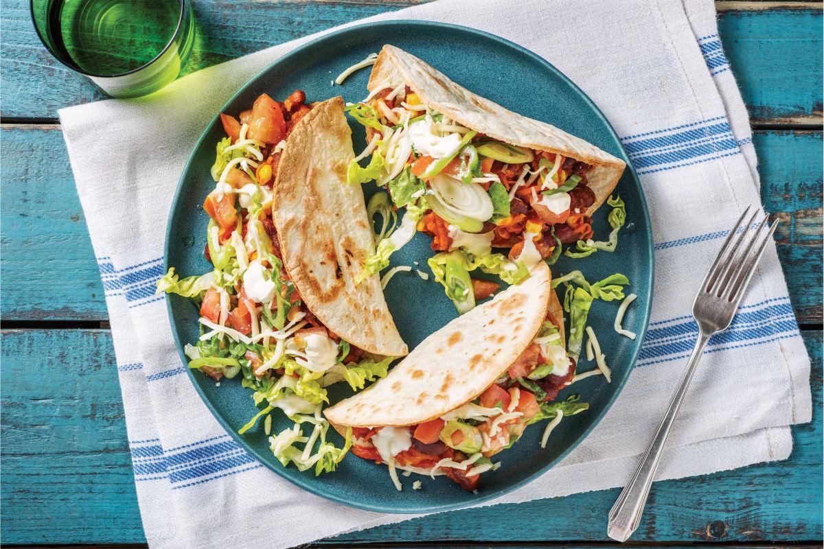 Tex-Mex Bean Tacos