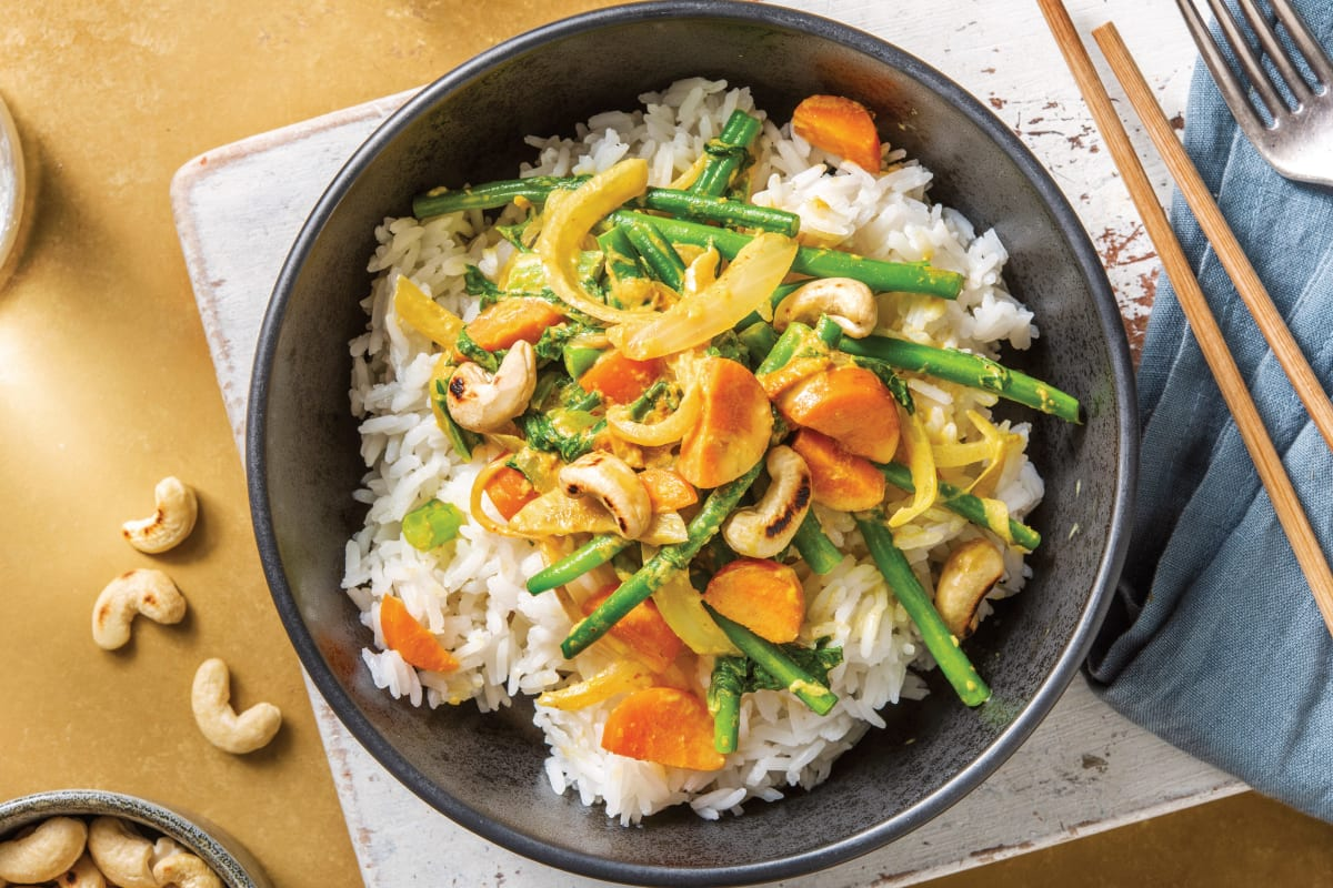 Veggie Thai Yellow Curry