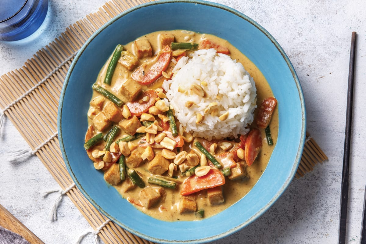 Thai Green Tofu Curry