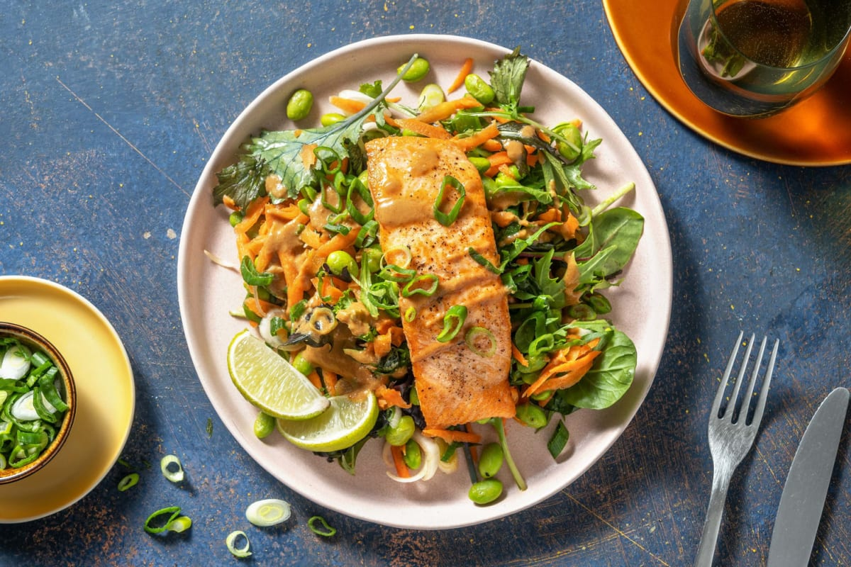 Thai-Inspired Salmon Salad