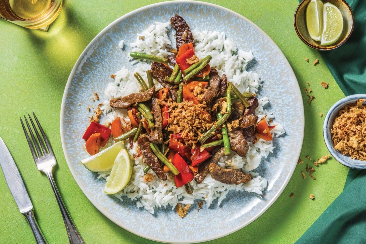 Thai Spiced Beef Stir-Fry