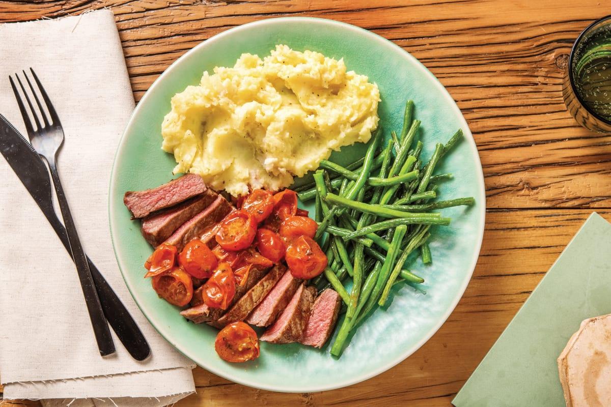 Thyme Beef Rump & Parsnip Mash