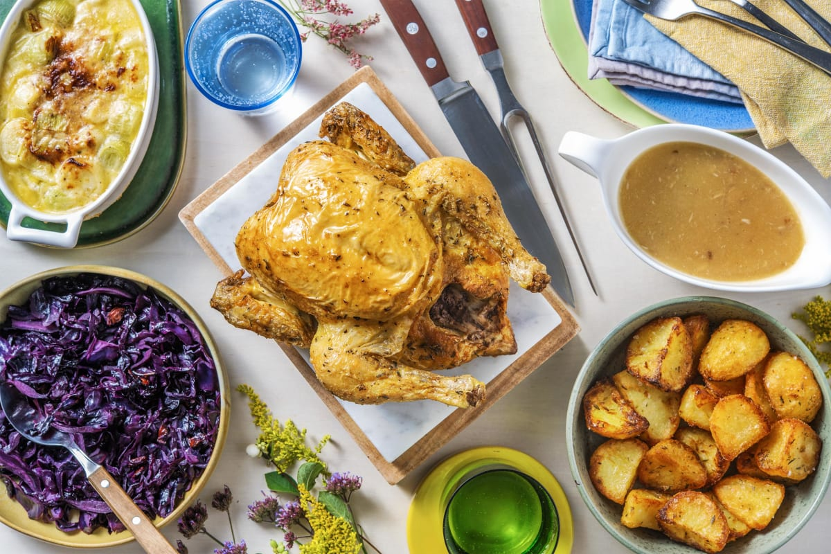 Thyme Roasted Chicken