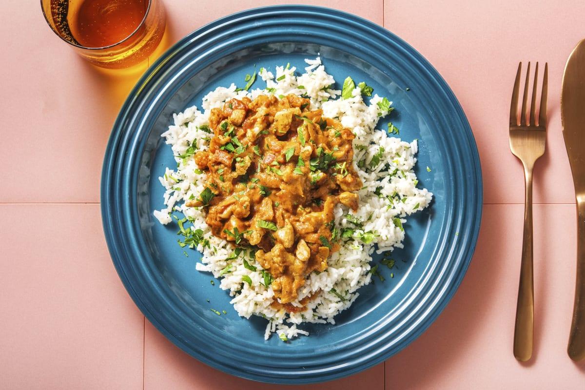 Tikka-Masala-Curry mit Hähnchen