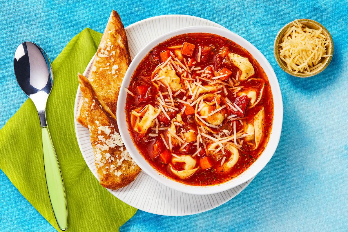Toscana Tortelloni Vegetable Soup
