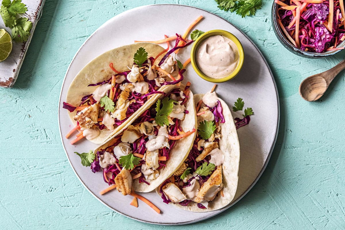 Tropical Fish Tacos