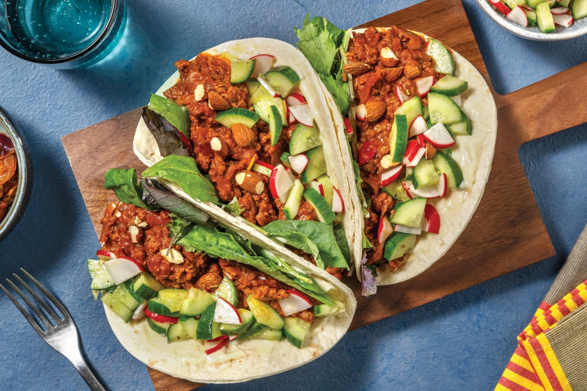 Easy Turkish-Spiced Beef Tacos
