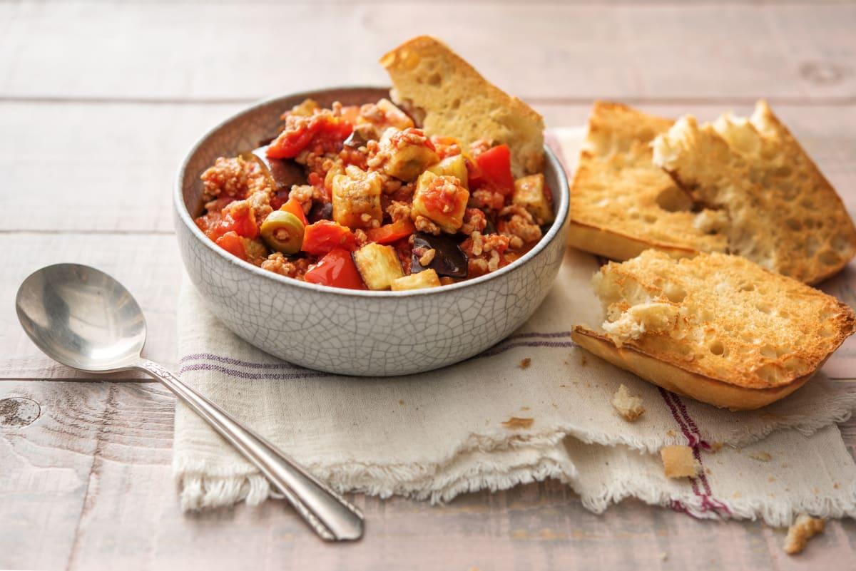 Sicilian Eggplant Stew