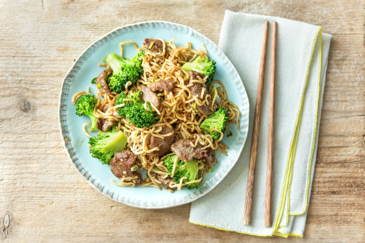Rapid Stir-Fried Beef