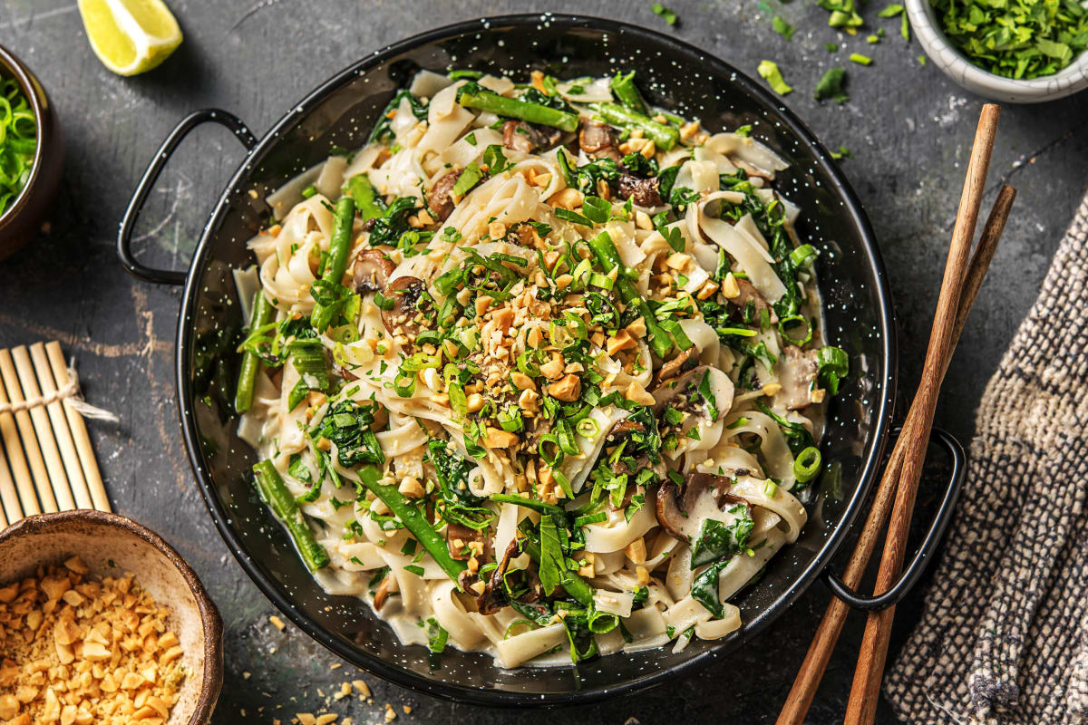 Thai Green Curry (v)