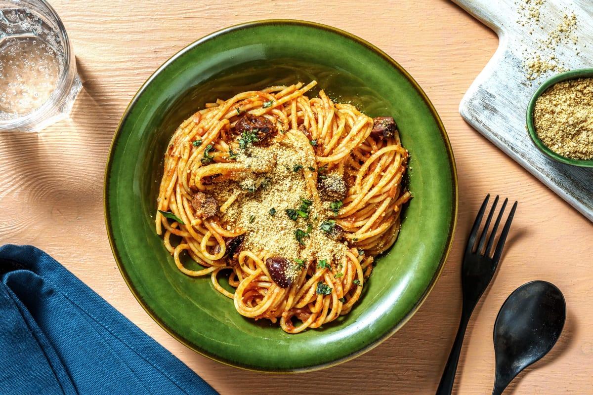 Vegetarische Spaghetti alla Napoletana