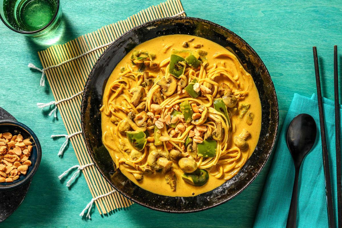 Veggie Laksa Soup