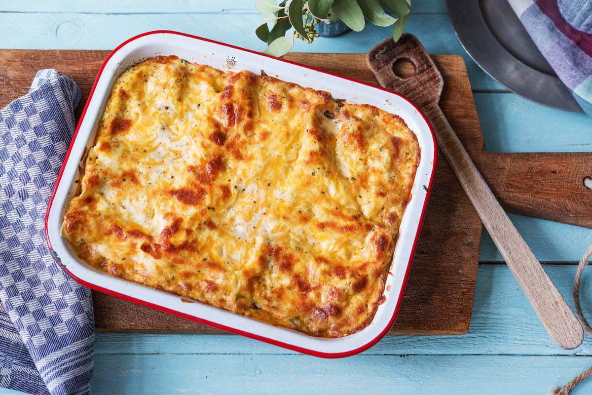 Veggie Lentil Lasagne