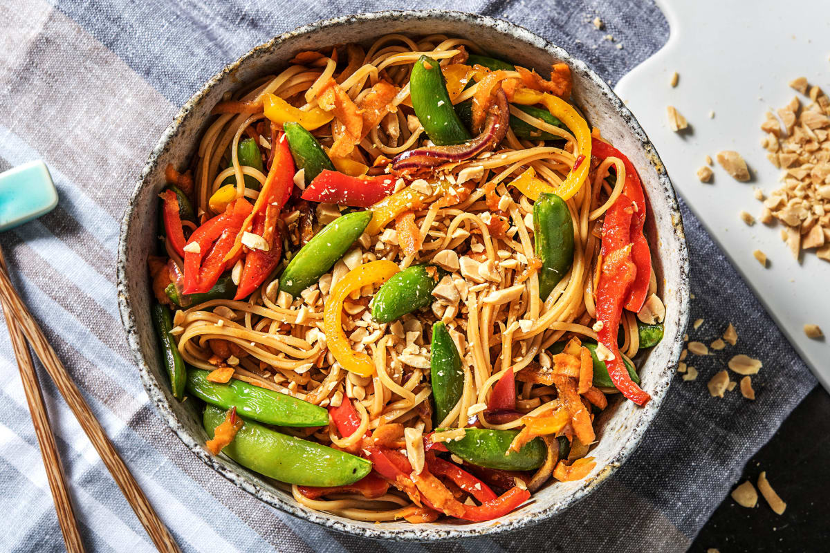 Veggie Noodle Stir Fry Recipe Hellofresh