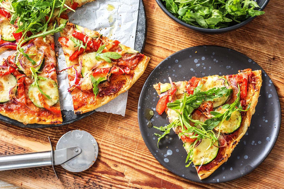 Veggie Pizza (v)