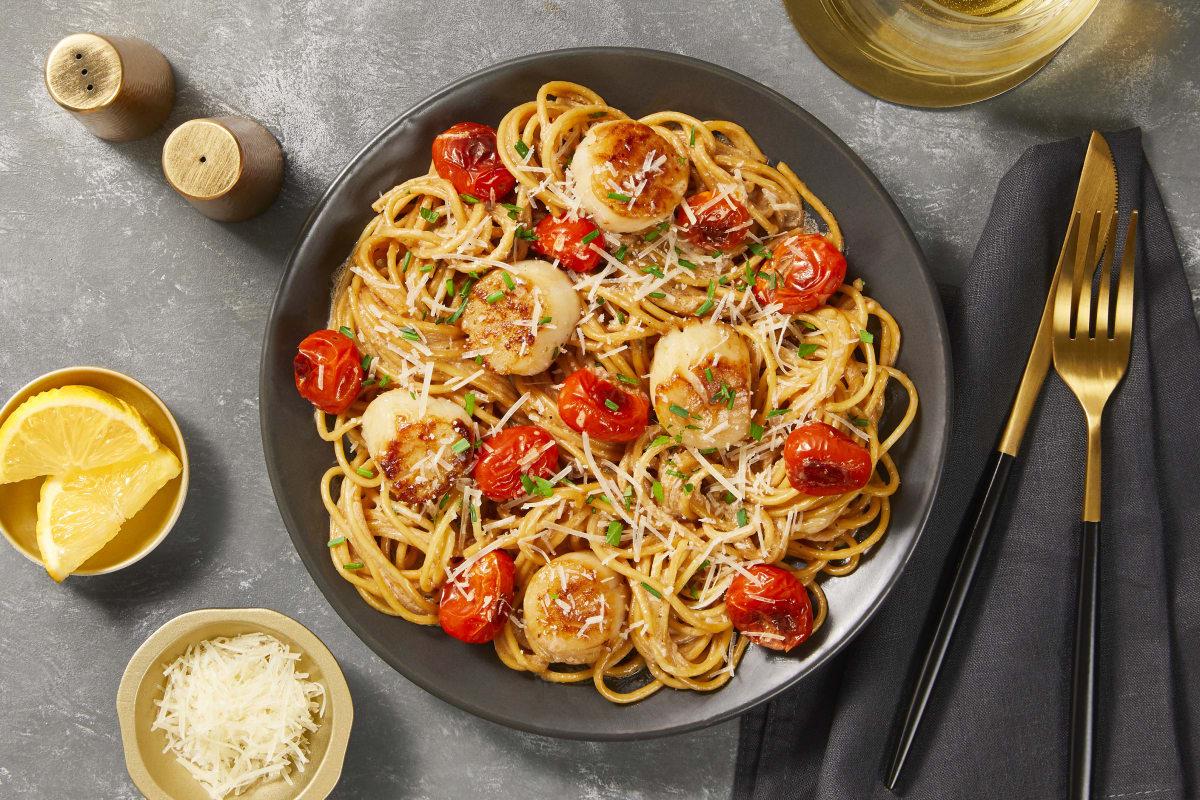 Venetian Scallop Spaghetti