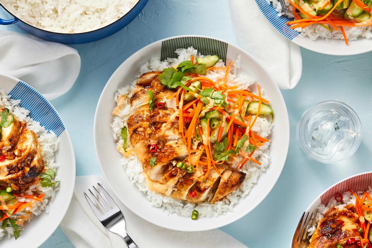 Vietnamese Chicken Bowls
