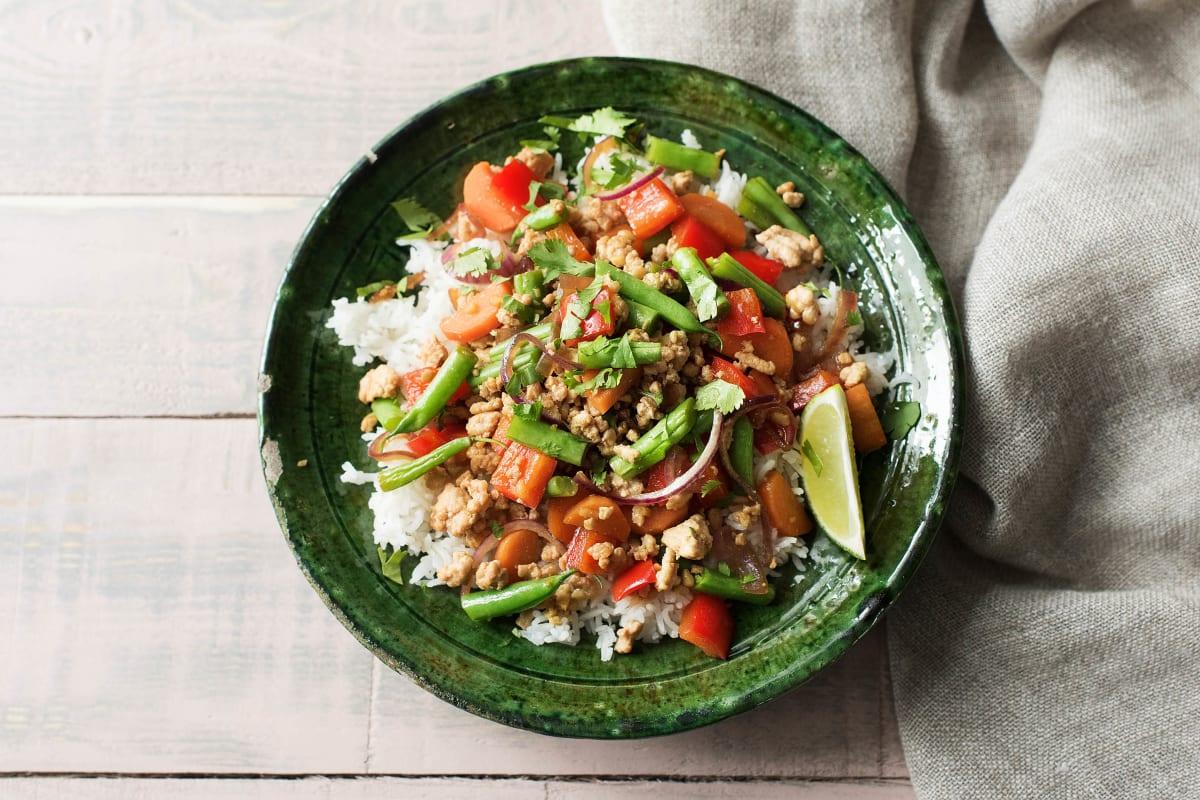 Vietnamese Chicken Larb
