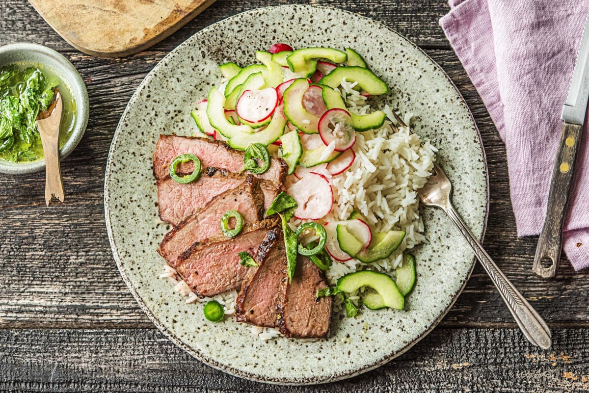 Vietnamese Marinated Steak