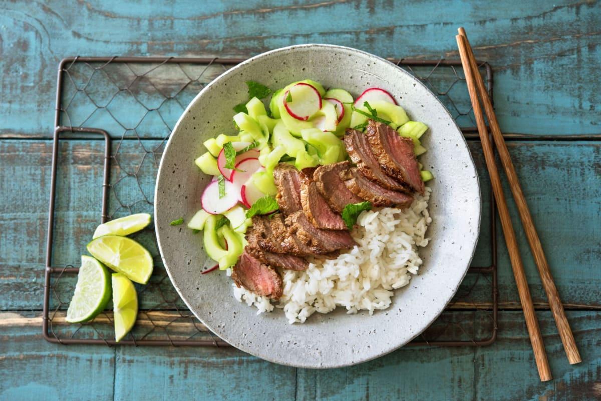 Vietnamese-Marinated Steak